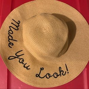 Accessories - Made You Look sun beach hat
